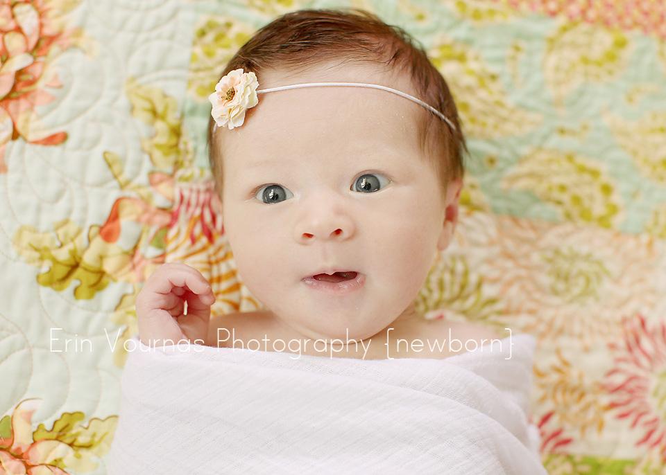 lillian mae 1 month newborn erin vournas photography